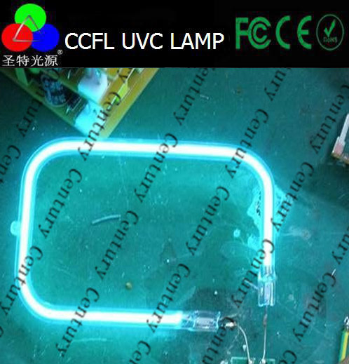 Quartz 253.7nm uv lamp