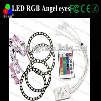 LED RGB Multi-Color Angel Eye Halo Rings
